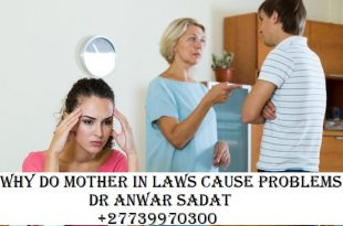 Why do mother in laws cause problems