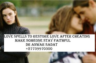 Love spells to restore love after cheating make someone stay faithful