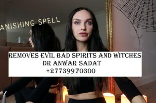 Removes evil bad spirits and witches
